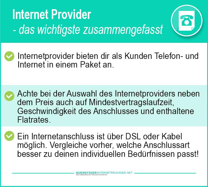 Internet Vergleichen Anbieter